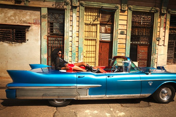 fashion shoot in cuba by french revue